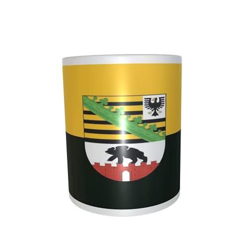 U24 Tasse Kaffeebecher Mug Cup Flagge Sachsen-Anhalt