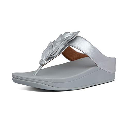 Fitflop Fino Sequin Mujer Sandalias Silver