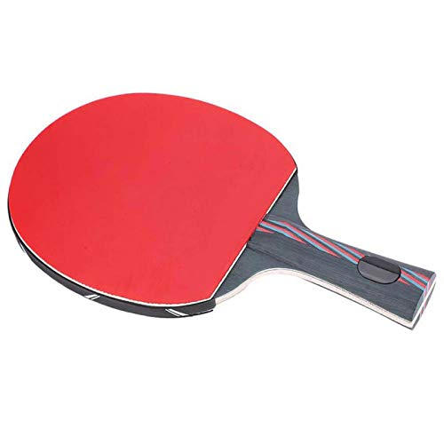 FOLOSAFENAR Bate de Tenis de Mesa Buena adherencia Cómodo, para Tenis de Mesa(Horizontal Shot)