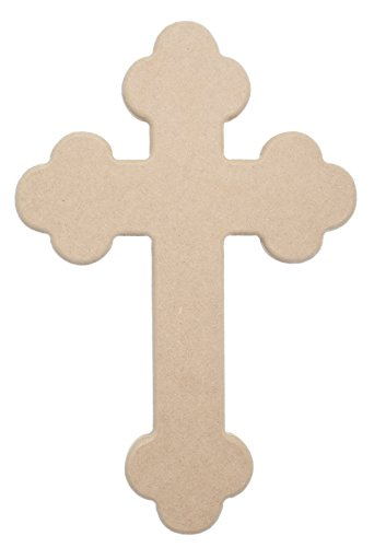 18' X 12' Celtic Wood Cross Unfinished DIY Medium Wooden Craft Cutout to Sell Stacked Crosses