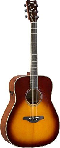 Yamaha FG-TA Transacoustic Guitar w/ Chorus and Reverb, Brown Sunburst
