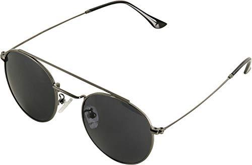 MSTRDS Sunglasses August Lunettes de Soleil Mixte-Adulte, Métal/Noir, Taille Unique