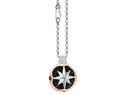 Zancan Girocollo con Rosa dei Venti in Oro e Diamanti EC642BR