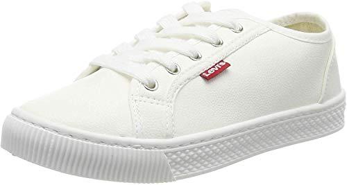 Levi's Malibu Beach S, Zapatillas Mujer, Blanco (Sneakers 51), 38 EU