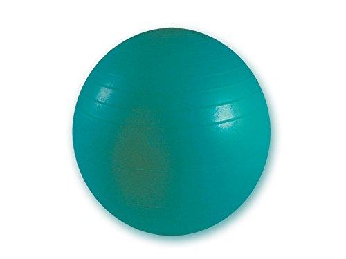 GIMA - Widerstandsball, Gymnastikball, für Rehabilitation, Dynamisches Training, Yoga, Pilates, Bürostuhl, Farbe Grün, Durchmesser 65 cm, Widerstandsstufe 136 kg
