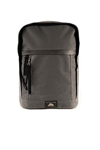 Old Cotton Cargo Unisex impermeable 7163 delmare mochila Tablet Maletín Portátil NoteBook Bolsa… - negro - Medium