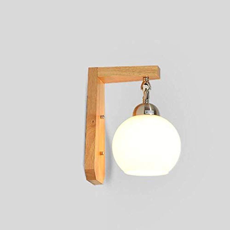 FuweiEncore Minimalistische Holz Moderne Kreative Lampe Wand, Das Bett Wohnzimmer Die Schlafzimmer Balkon Walk Wandleuchte (Farbe   -, Gre   -)