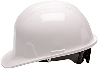 Pyramex Safety Products HP14110 Sl Series 4 Pt. Ratchet Suspension Hard Hat, White