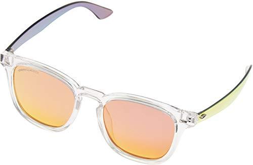 Urban Classics Unisex 109 Sunglasses UC Sonnenbrille, transparent/red, one size