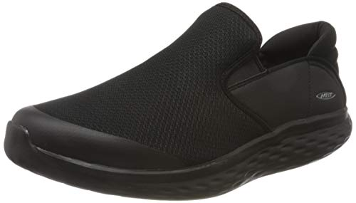 MBT Herren Modena Slip On M Sneakers, Schwarz (Black/Black 257y), 42 EU