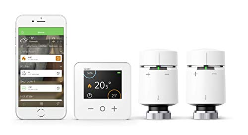 Drayton Wiser Multi-Zone Smart Thermostat and 2...