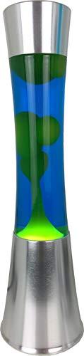 Lavalampe Askja Retro Tischleuchte Stimmungsbeleuchtung (gelb/blau)
