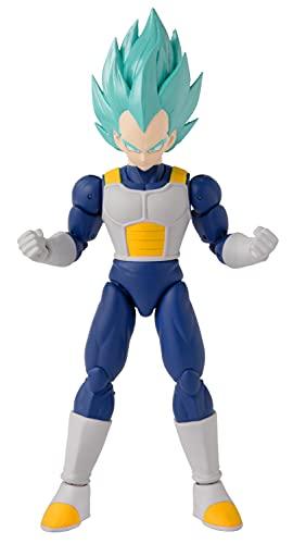 BANDAI 36773 Dragon Ball-Dragonstars-Super Saiyan Blue Vegeta: versione 2-17 cm Action Figure