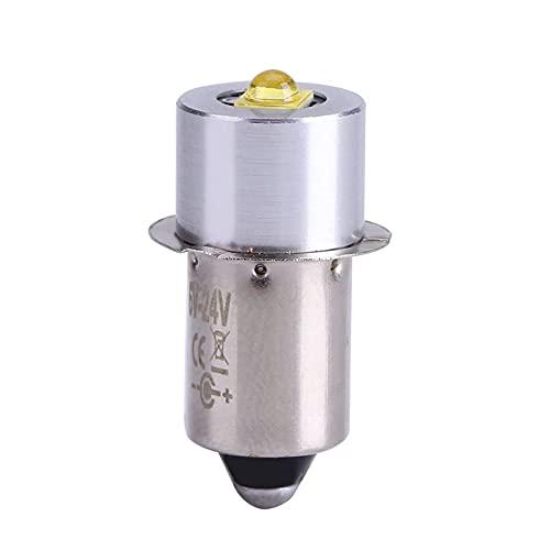 Bombilla LED P13.5S, 200LM 3W 6000K 6-24V de alto brillo LED Buld, a prueba de explosiones de trabajo de emergencia bombillas de repuesto