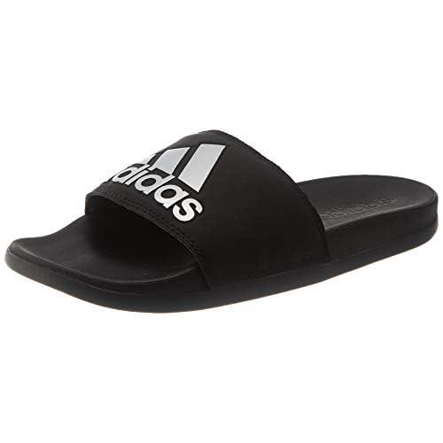 adidas Adilette Comfort, Ciabatte Donna, Nero (Core Black/Silver Met/Core Black), 40.5 EU