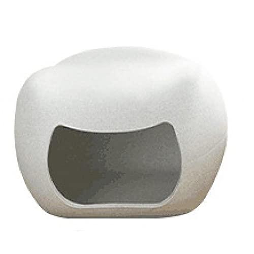 Nido de Gato, Casa para Gatos con Forma de, hámster para Gatos Cuatro Estaciones Mascota Kennel Moda Simple Plástico Pet House Gato Taburete Nido De Gato