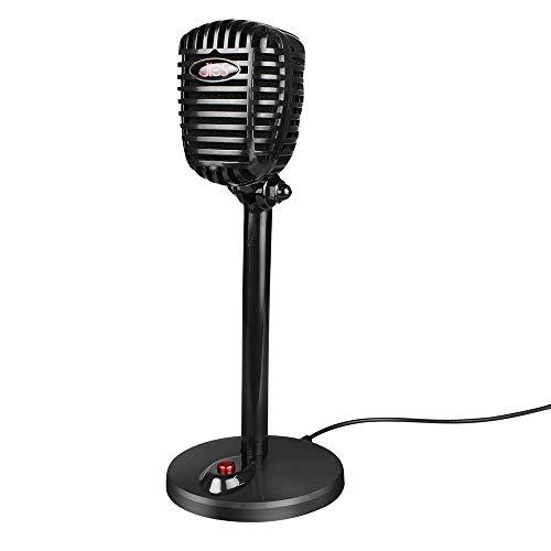 Meteor fire Micrófono USB de Mesa, Plug & Play Home Studio Micrófono de computadora USB Ideal para grabación de Voz, computadora, computadora portátil, Escritorio y Cuaderno