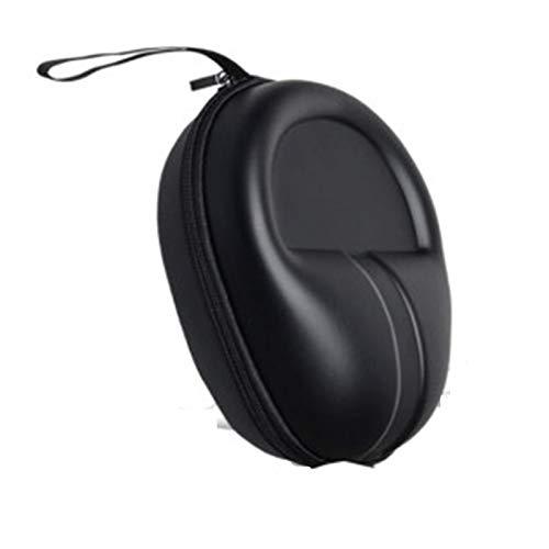 HUIYING Caja De Almacenamiento Grande para Auriculares Negro Caja Dura A Prueba De Caídas Y Resistente A La Presión Más Conveniente con Sony Y Muchos Más Auriculares