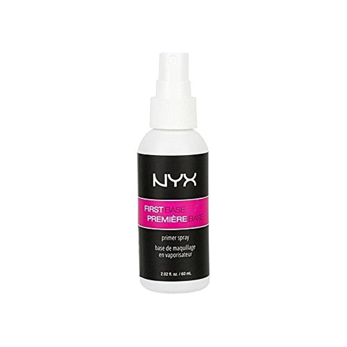状況溶接脇に化粧品第一塩基プライマースプレー x4 - Nyx Cosmetics First Base Primer Spray (Pack of 4) [並行輸入品]