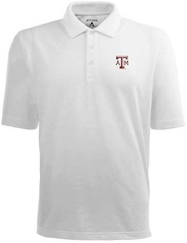 NCAA Texas A/&M Aggies Pique Xtra Lite Desert Dry Polo Mens