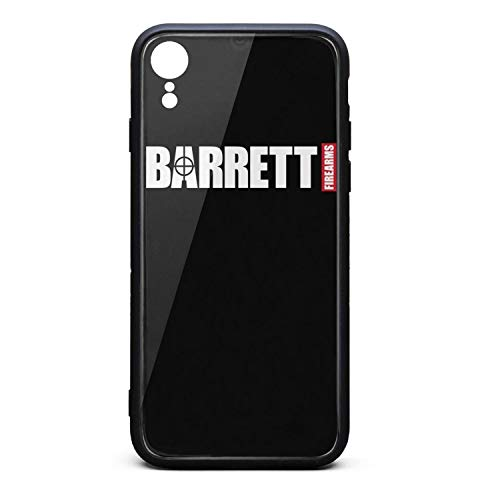 Designer Special Cool Best Stylish Fashionable-Barrett-Funny-Firearms-Gun-Phone Case for Phone Xr TPU Material Anti-Fingerprint Non-Slip Thin Silicone Scratch Impact Resistant Shock-Absorbing Popular