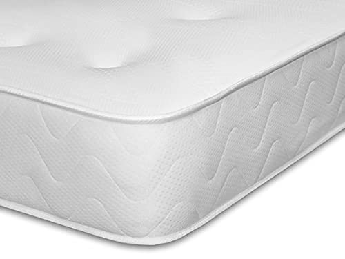 King Size Mattress – Luxury Ortho Mattress 5FT Kingsize Memory Foam Mattress Knitted Cool Touch Fabric 10 Inches Thick Harper (W= 150 CM | L= 200 CM | H= 25 CM)