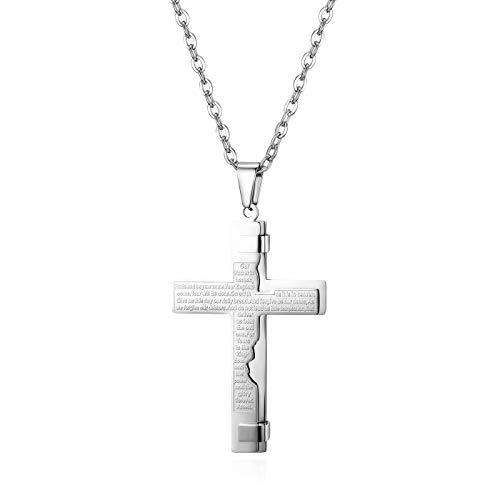 JewelryWe -   Herren Halskette,