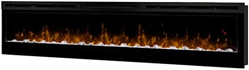 Dimplex Prism Series 74 Wall Mounted Electric Fireplace with Acrylic Ember Bed product image