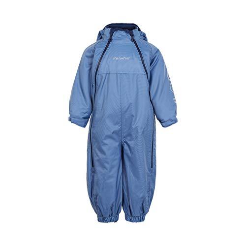 Minymo MINYMO Kleinkind Schneeanzug mit Doppelreißverschluss unifarben blau, Größe:80, Farbe:Coronet Blue