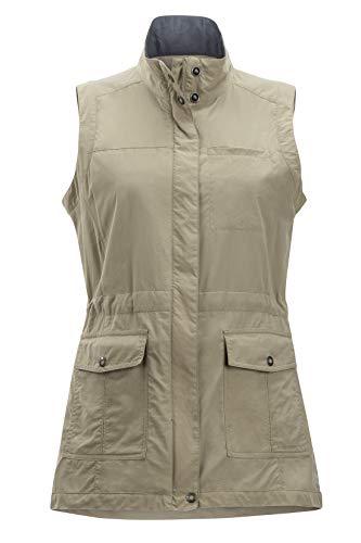 ExOfficio Women's Sol Cool FlyQ Travel Vest, Tawny, Large