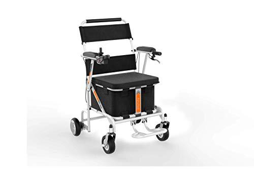 Obbocare | Silla de Ruedas Eléctrica Airwheel H8 para interior y exterior con cesta de almacenamiento