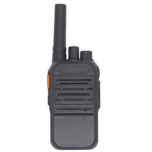Asudaro Mini Walkie Talkie HT-190 Juego de Radio inalámbrico VOX Manos Libres Walkie Talkies de Mano Portátiles Transceptor de Mano 16 Canales Mensaje de Voz Chino/Inglés