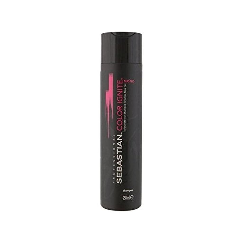 前投薬カフェしなければならないSebastian Professional Color Ignite Mono Shampoo (250ml) (Pack of 6) - セバスチャンプロのカラーにモノシャンプー(250ミリリットル) x6 [並行輸入品]
