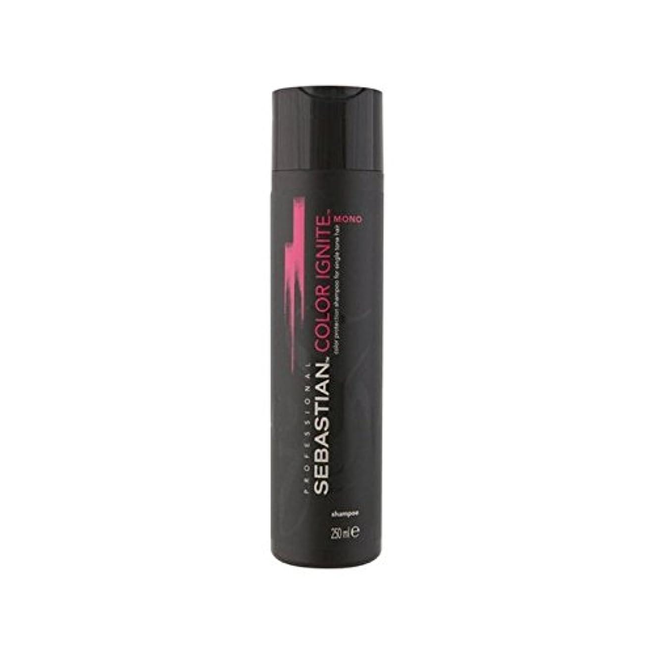 まぶしさ本質的にキャベツSebastian Professional Color Ignite Mono Shampoo (250ml) (Pack of 6) - セバスチャンプロのカラーにモノシャンプー(250ミリリットル) x6 [並行輸入品]