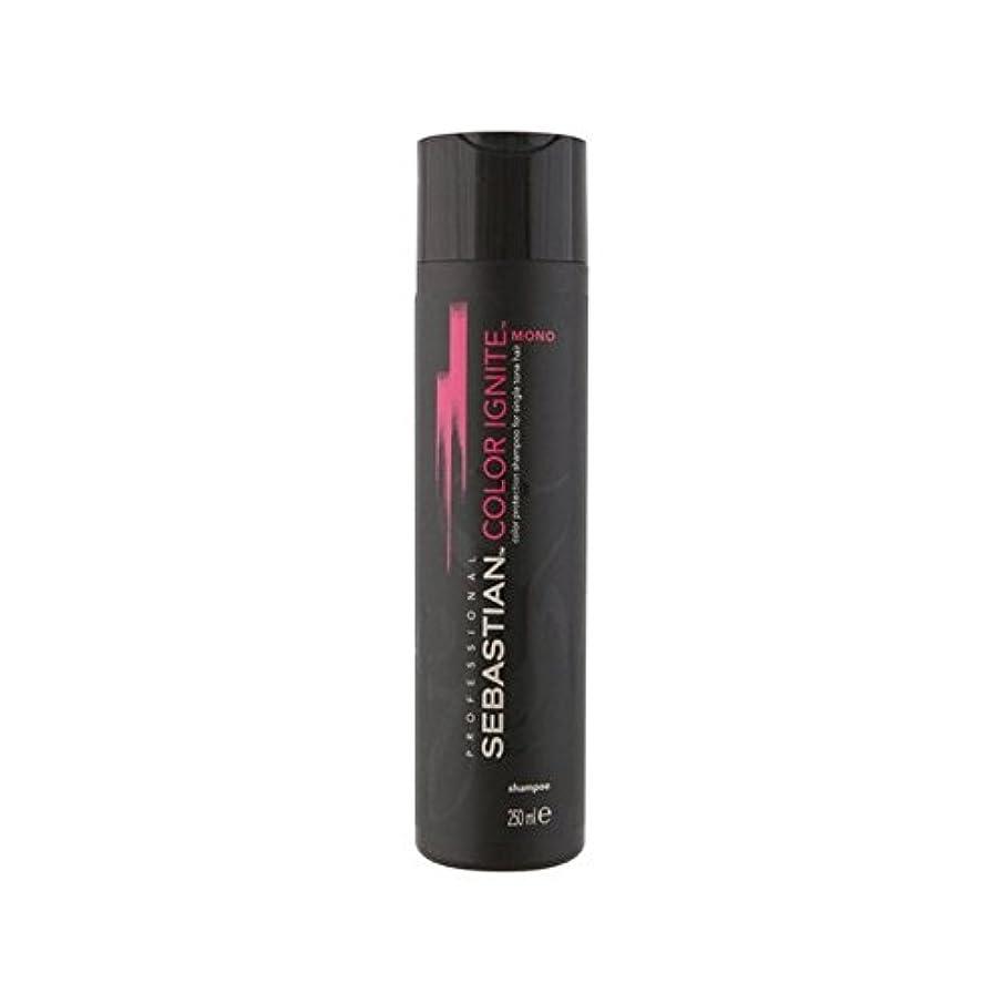 ぎこちない証言地理Sebastian Professional Color Ignite Mono Shampoo (250ml) - セバスチャンプロのカラーにモノシャンプー(250ミリリットル) [並行輸入品]