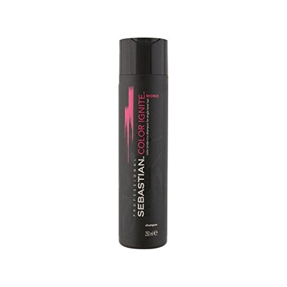 行商許す手順Sebastian Professional Color Ignite Mono Shampoo (250ml) - セバスチャンプロのカラーにモノシャンプー(250ミリリットル) [並行輸入品]
