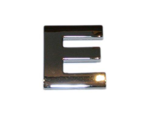 3D Chrombuchstabe E