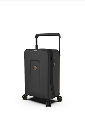 PLEVO THE RUNNER Black- The Worlds Most Innovative Smart Luggage