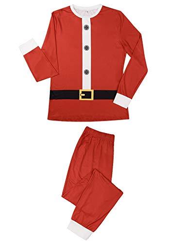 Conjunto de ropa para el hogar de Papá Noel, elfo de Papá Noel, mamá, papá, niño, Navidad, padres e hijos, ropa de fiesta familiar conjunto de pijama
