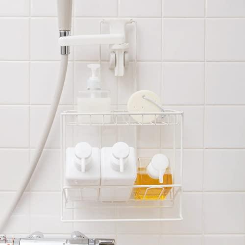 シャワーラック 2段 ホワイト