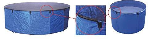 Aquaforte Flexibles Faltbecken Koi bowl, inkl. Abdecknetz und praktischer Tragetasche, Ø 90 x H 60 cm (± 380 L)