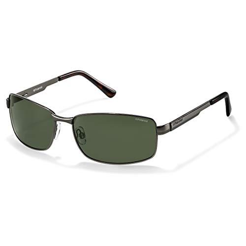 Polaroid Für Mann P4416 Gunmetal / Green (Polarized) Metallgestell Sonnenbrillen