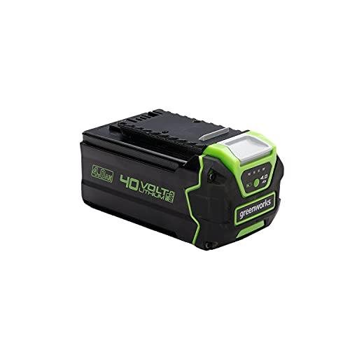Greenworks 40V Batería G40B4, batería Li-Ion 40V 4Ah recargable de alto rendimiento...
