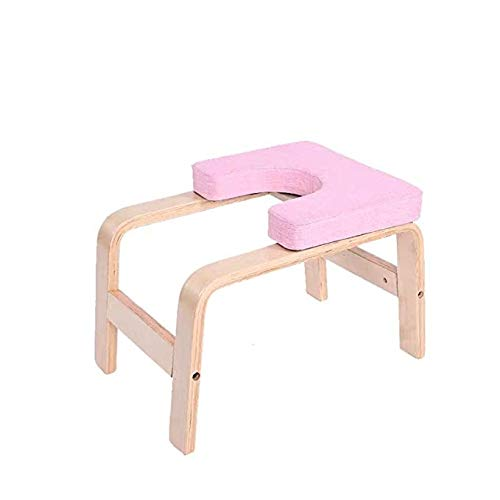 Purchase DYFFF Yoga Headstand Bench Stand Yoga Chair for Family, Gym Relieve Fatigue and Build Up Bo...