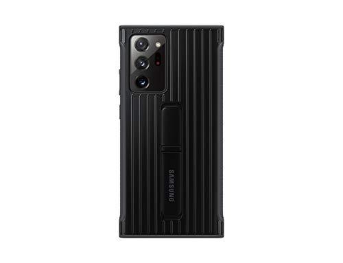 Samsung Protective Standing Smartphone Cover EF-RN985 für Galaxy Note20 Ultra 5G Handy-Hülle, Schutz, ausklappbarer Standfuß, griffige Oberfläche, schwarz - 6.7 Zoll