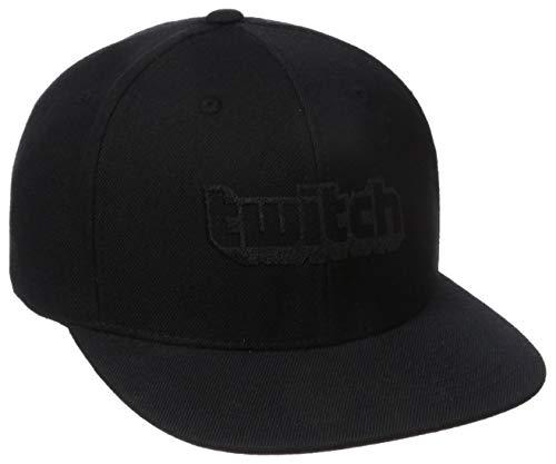 Twitch Logo Baseball Cap Black