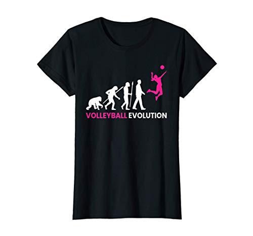 Damen Volleyball Evolution #1 T-Shirt | Beachvolleyball Frauen T-Shirt