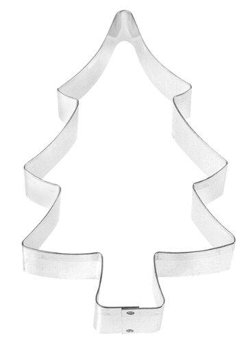 Fox Run Cortador de biscoito de árvore de Natal, 12,7 cm, aço inoxidável