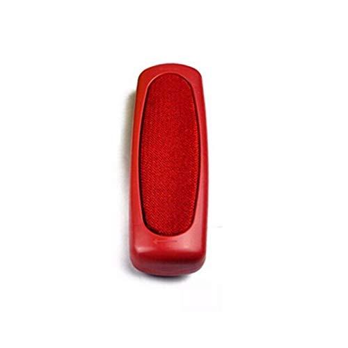 WenJ 2 Stück Sofa Haar Staubbürste Aus Kunststoff Sweeper Teppich Tischtuch Corner Schmutz for Kissen, Teppiche, Kissen, Decke, Sofakissen, Staub, Schreibtisch-Reiniger (Color : Red)