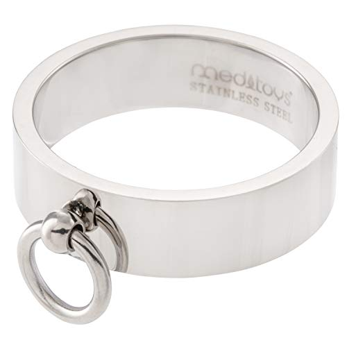 meditoys - 'Ring der O' in Edelstahl (high polished), Finger-Ring Damen Herren